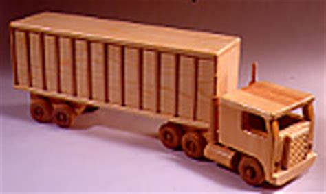big rig doll house big rig toy truck plan