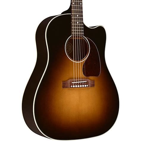 gibson j 45 for sale gibson 2018 j 45 electric cutaway acoustic electric guitar