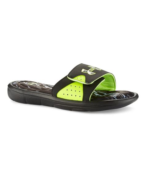 armour boys sandals boys armour ignite banshee sandals ebay