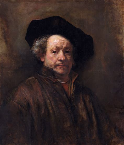 a self portrait rembrandt wikiwand