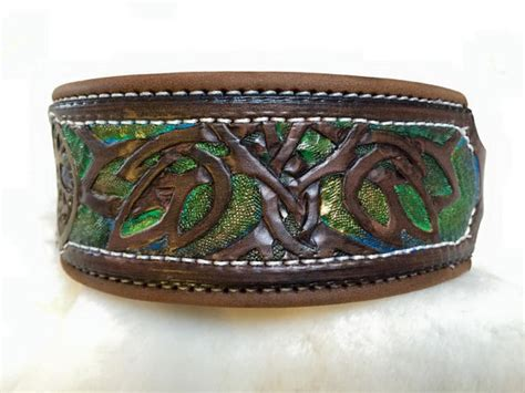 Tree Collar Top Diskon tree of leather tooled collar by finelytooled
