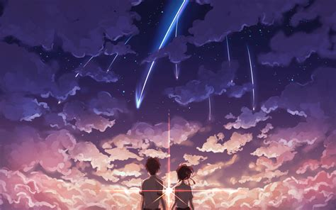 Anime Your Name by Kimi No Na Wa Wallpapers Wallpaper Cave