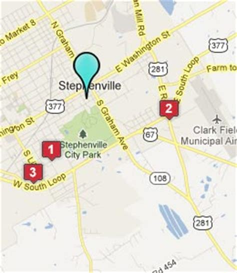map stephenville texas stephenville tx hotels motels see all discounts
