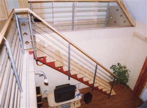 treppengeländer handlauf holz metalltreppen blechwangentreppe als metalltreppe mit