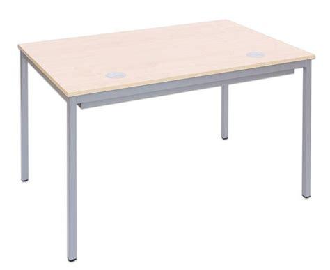 edv tisch edv tisch mit blechkanal vierkantrohr tischbeine bxt 80