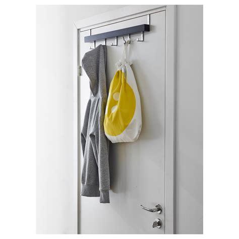 Ikea Tjusig Rack Gantungan Pintudinding Hitam white hooks for coats wing coat rack zeitraum hide park wall coat racks hooks woont rack