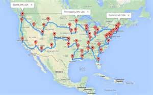a motorcycle road trip across the united states the usa