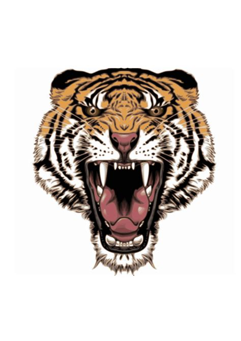 clipart tattoo design tiger