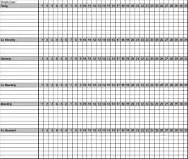 Monthly Chore Calendar Template by Monthly Chores Chart Monthlychoreschart