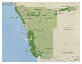 us national parks map quiz national parks reserves in namibia a z list