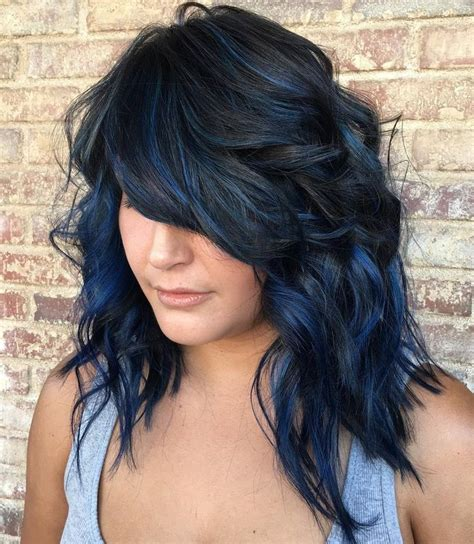 black hairstyles with dye best 25 blue black hair color ideas on pinterest hair
