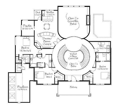 house plans with curved staircase house plans with curved staircases home design and style