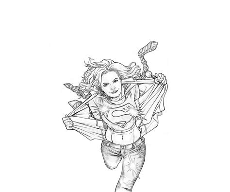 Free Coloring Pages Of Supergirl Pictures Superwoman Coloring Pages