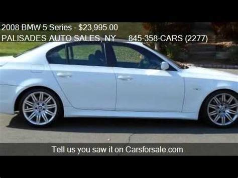 2008 bmw 5 series 550i m sport package for sale in nyack