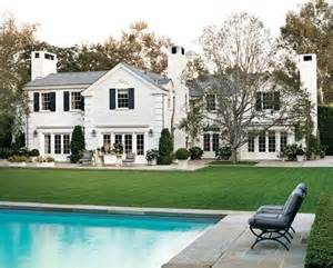 my is to live in a white brick house with black