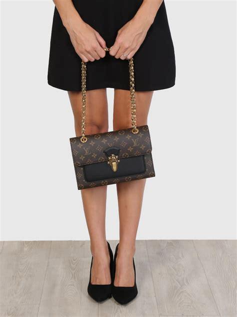 Louis Vuitton Leather louis vuitton victoire monogram canvas calf leather