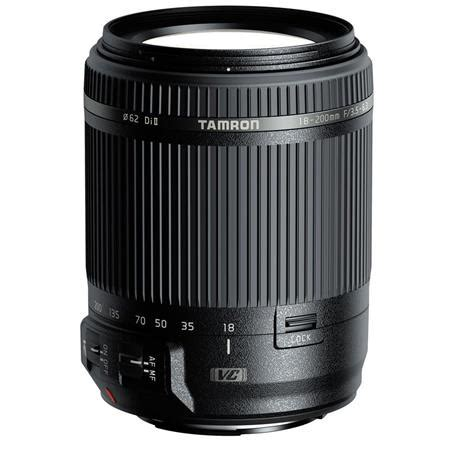 tamron 18 200mm f/3.5 6.3 di ii vc af zoom lens for canon