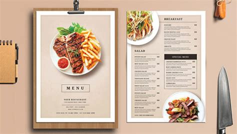 food menu design template blank restaurant menu template word calendar template