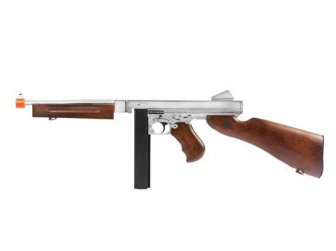 Airsoft Gun King Arms king arms thompson m1a1 aeg airsoft smg silver airsoft guns