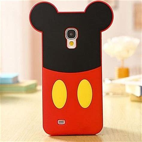 Silicone Silikon Disney Mickey Mouse Samsung S4 I9500 la historieta rat 243 n de silicona caso de tel 233 fono celular para samsung galaxy i9500 s4 usd