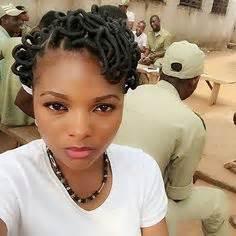 nigerian thread hairstyle african hair threading natural hair styling pinterest