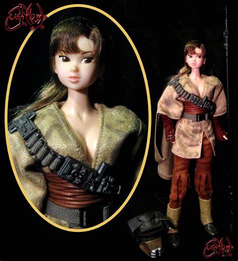 anatomically correct leia doll leia organa boushh disguise by jvcustoms on deviantart