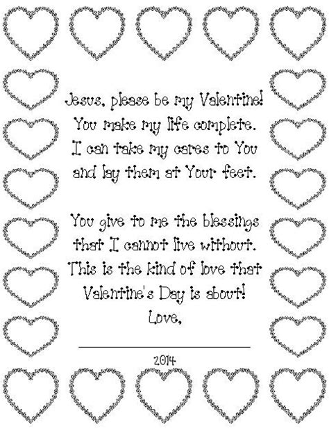 valentines poem for children s day poem for jesus can read the poem