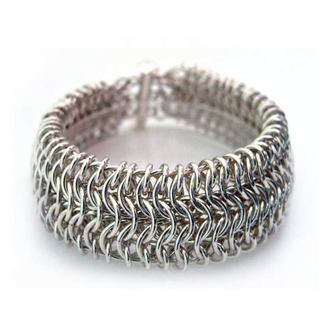 jewelry classes chicago sleek cuff bracelet chainmaille diy jewelry class feb