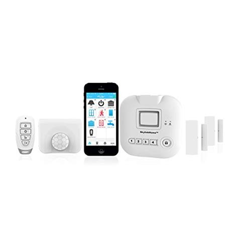 skylinknet connected home alarm system starter kit wyzed