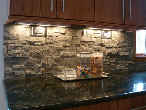 Rock Kitchen Backsplash Unique Kitchen Backsplash Ideas Modern Magazin