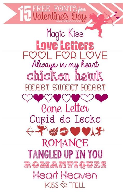 free valentines fonts 15 free s day fonts clipart fonts