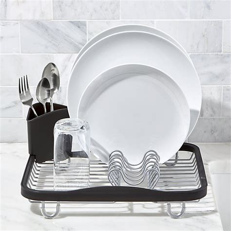 Umbra In Sink Dish Rack by Umbra Sinkin In Sink Dish Rack Crate And Barrel
