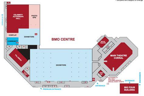 fan expo floor plan floor map