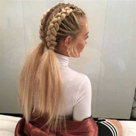 hair styles for cruise vacation coiffure 233 t 233 les tresses coll 233 es