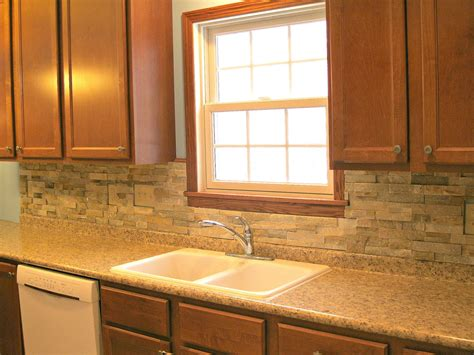 pictures of tile backsplashes in kitchens monkey see monkey do before after kitchen backsplash