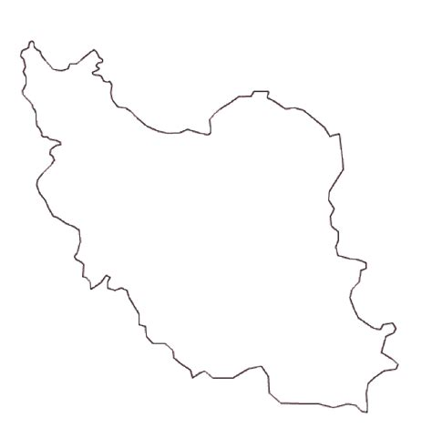 iran map coloring page map of iran terrain area and outline maps of iran
