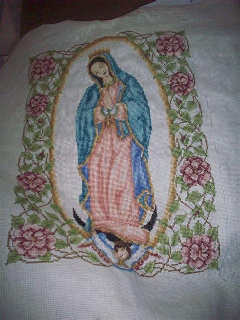 imagenes de la virgen maria para bordar imagenes de la virgen de guadalupe en punto de cruz imagui
