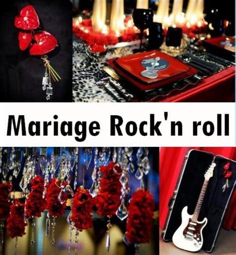 Decoration Rock by D 233 Coration De Mariage Rock N Roll 192 D 233 Couvrir