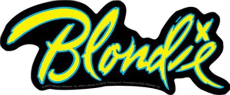 Home Decor Reviews by Blondie Band Logo Sticker