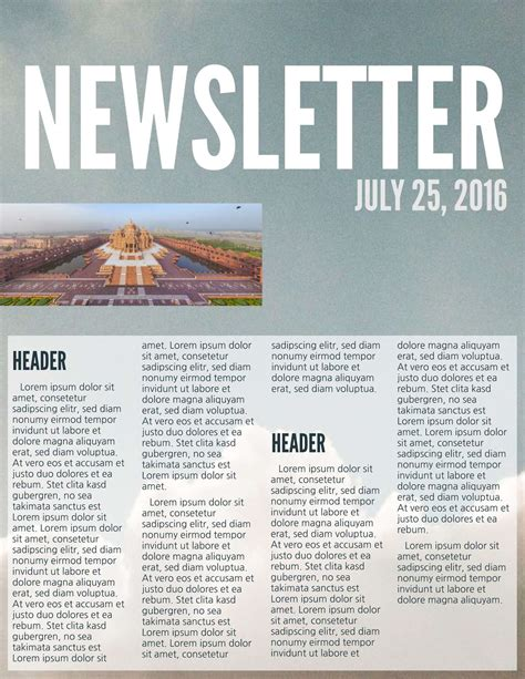 Letter Topics the best newsletter ideas for annual