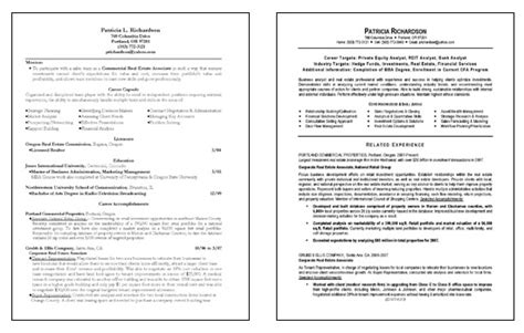 Resume Sles For Business Analyst by Business Analyst Resume Exle