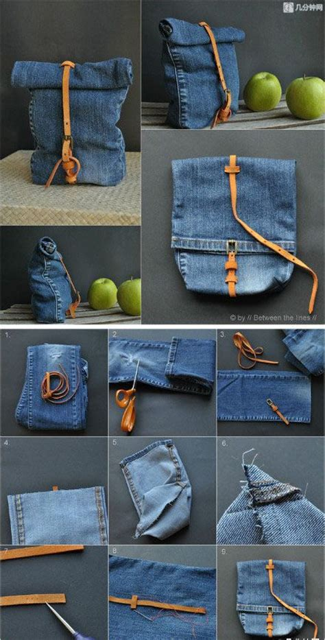 7 DIY New Ways To Recycled Clothing   Denim: Part 2