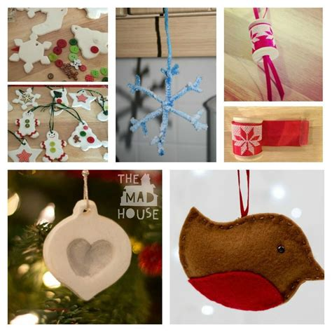 Handmade Ornaments To Make - 35 decorations crafts and gifts can