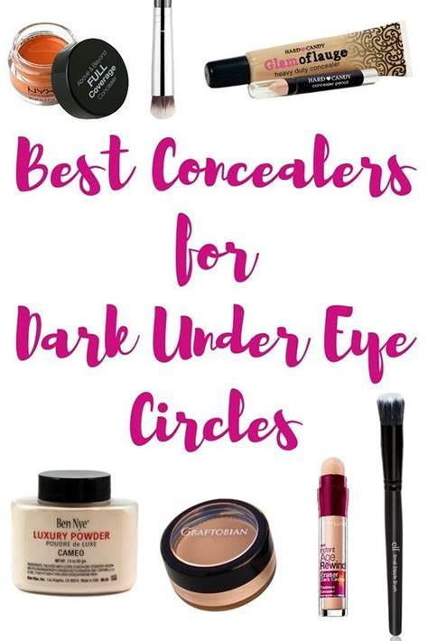 Best Concealers for Dark Under Eye Circles   Thrifty