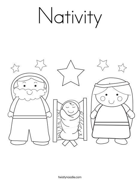 daily coloring pages nativity best 25 nativity coloring pages ideas on pinterest