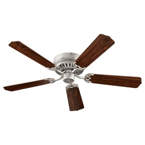 ceiling hugger fans without lights quorum lighting hugger satin nickel ceiling fan without