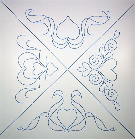 Stencils Quilting by Quilting Stencils Free Quilting Images