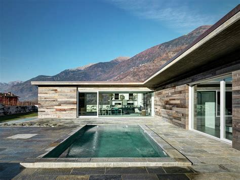 a modern italian stone house ap house by gga architects modern home in italy rocks stone surfaces freshome