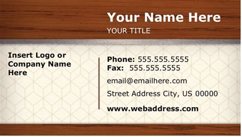 https templates office en us time card tm16400642 free business card template microsoft word