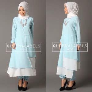 Gamis Pesta Queenalabels baju gamis pesta muslimah modern vizie by queenalabels